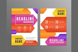 Poster Templates. Vector