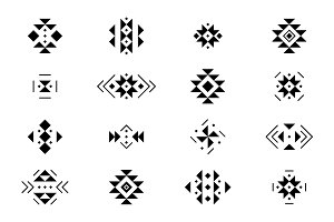 16 Tribal elements, 5Brushes + BONUS