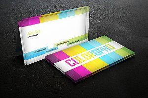 Coloropho- Premium Business Card