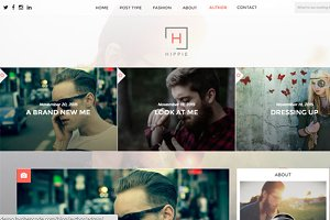 HIPPIE WordPress Blog Theme