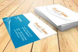 Brand Name Visiting Card