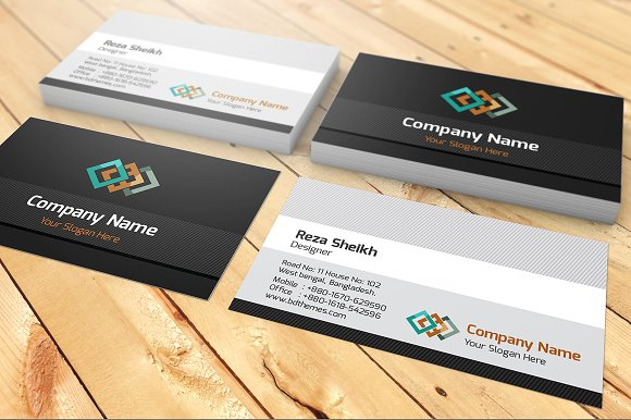 Company name visiting card business card templates creative market colourmoves
