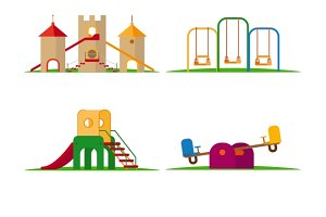 Kids playground elements