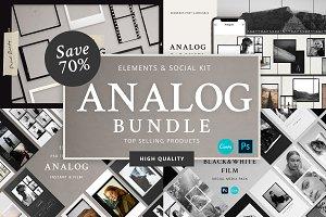 Analog Film Frames BUNDLE