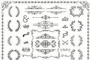 60% OFF! Decorative Design Elements