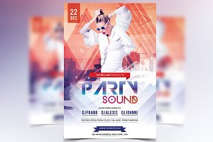 Party Sound - PSD Flyer
