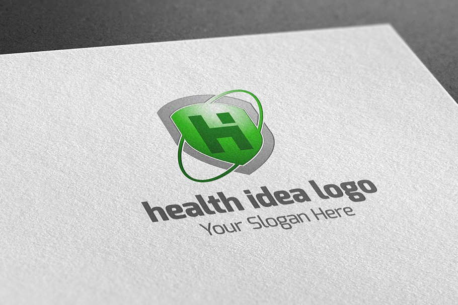 Health Idea Logo in Logo Templates - product preview 1