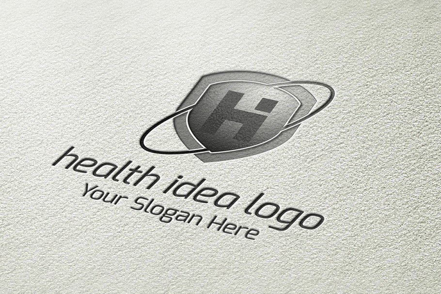 Health Idea Logo in Logo Templates - product preview 3