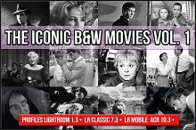 The Iconic B&W Movies V. 1 profiles