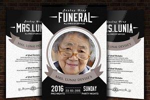 Funeral & Memorial Program Templates