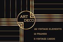 37 Art Deco Design Elements Vol.1
