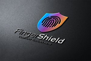 Finger Shield Logo