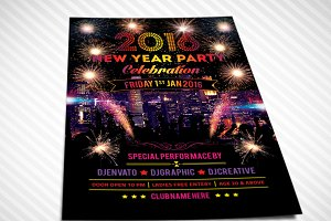 New Year Party Flyer 02