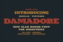 DAMADORE TYPEFACE by  in Fonts