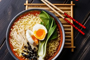 Ramen Asian noodles