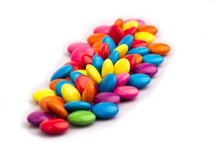 colorful candy chocolates