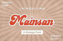 Mainsan by  in Fonts