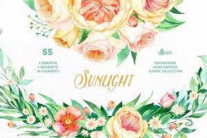 Sunlight. Floral Collection