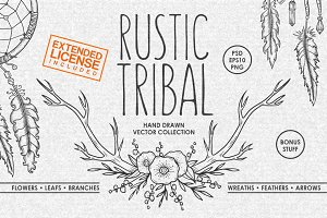 Rustic Tribal Collection