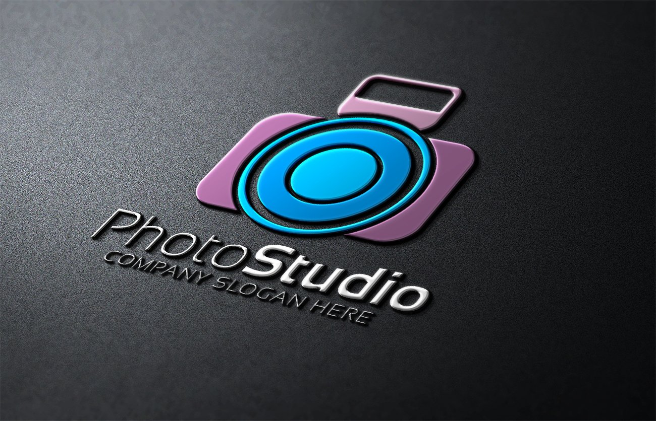 Wedding Photography Studio Logo: Photo Studio Logo