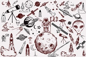 Outer space, space exploration