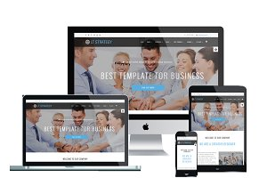 LT Strategy Onepage Joomla Template