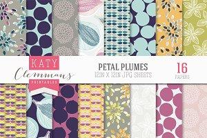 Petal Plumes paper pack