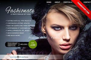 Fashionate Photography WordPress