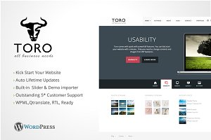 Toro Business Portfolio WordPress
