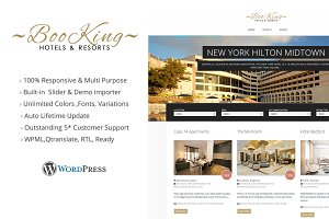 Booking Multipurpose WordPress Theme
