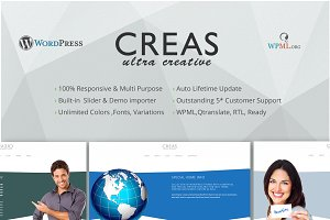 Creas Ultra Creative WordPress Theme