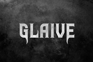 Glaive Typeface