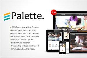Palette Ultra Premium  Theme Theme