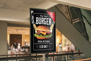 Fast Food Banner Ad Template