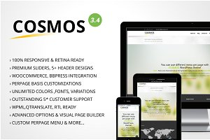 Cosmos Ultra Responsive WordPress
