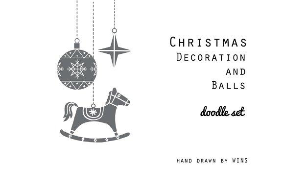Christmas Decorations and Balls