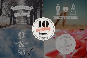 Wedding logos Templates