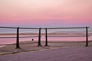 Absolutely pink pier