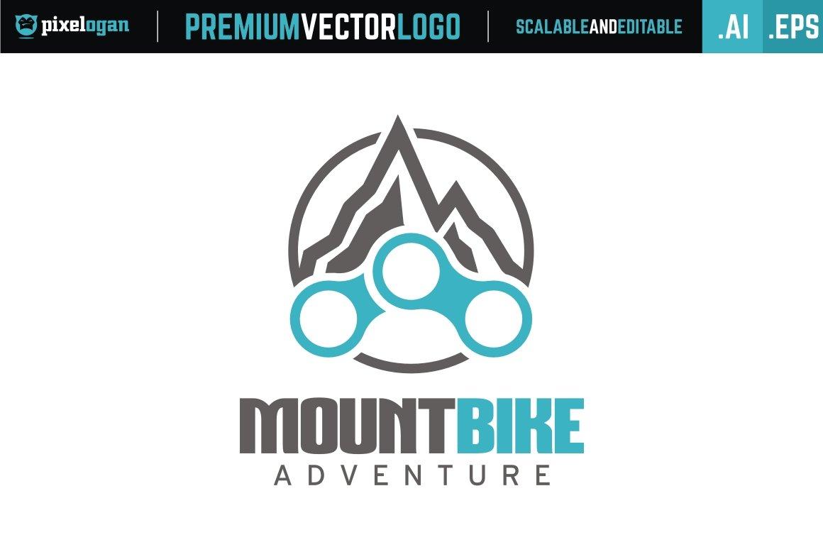 Mountain bike logo logo templates creative market biocorpaavc Images