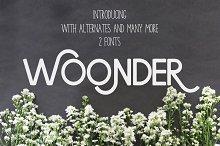 Woonder [2 Font]