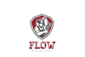 Flow Plumbing Services Logo