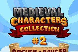 Medieval Game Sprites Characters 2
