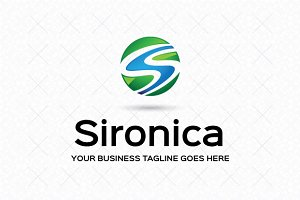 Sironica Logo Template