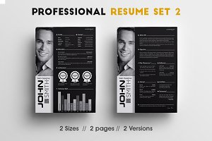 Professional Resume Set 2