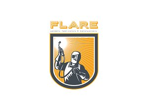 Flare Welders and Fabricators Logo