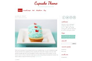 Wordpress Template - Cupcake