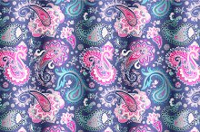 2 Paisley Seamless Patterns