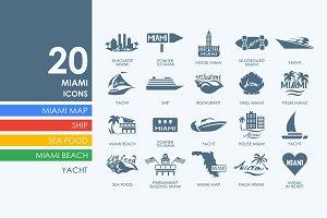 20 Miami icons