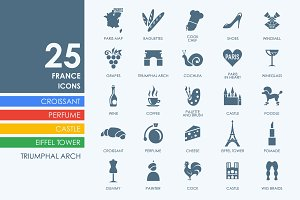 25 France icons