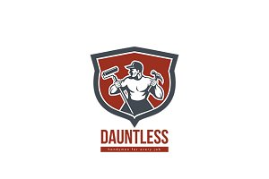Dauntless Handyman Logo
